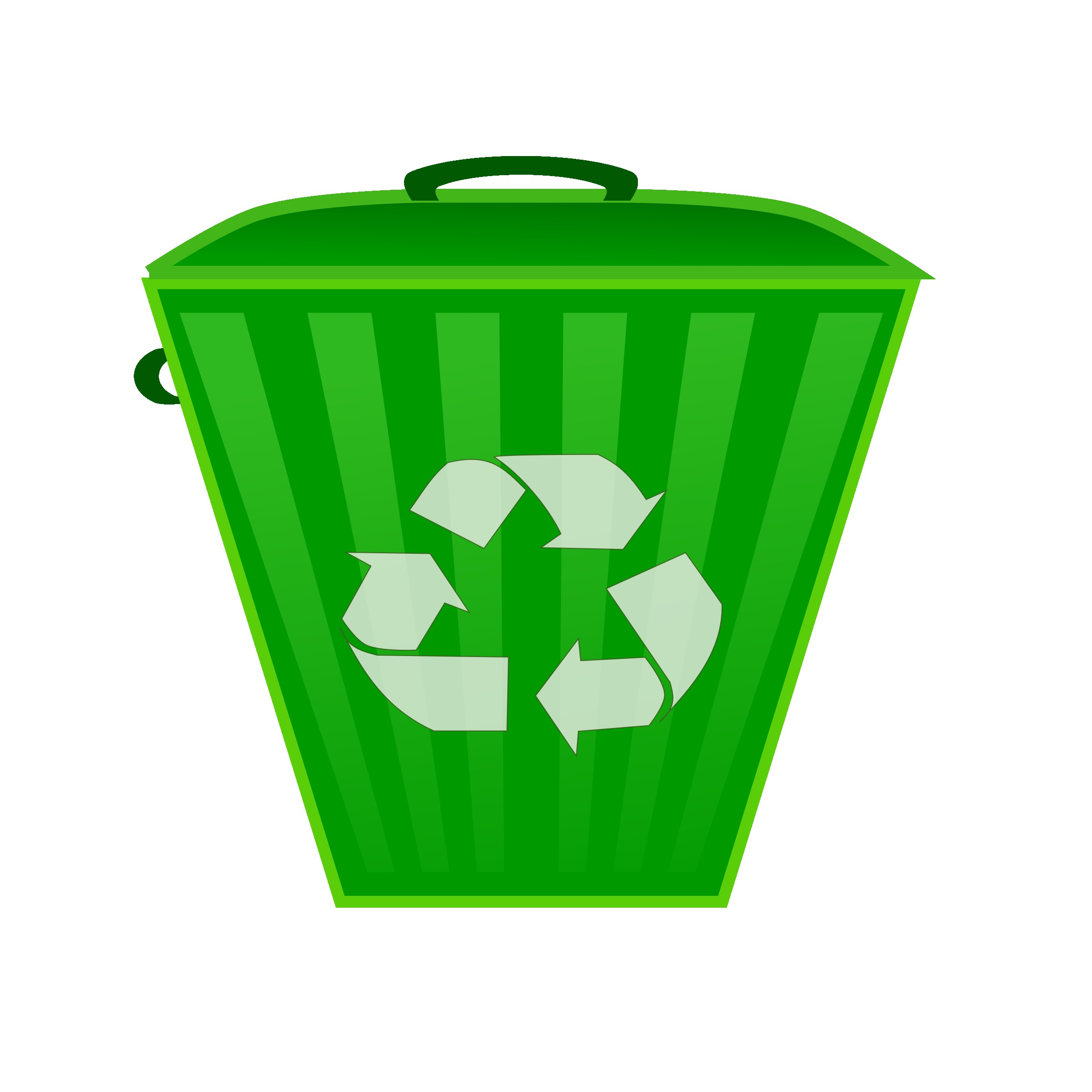 2400x2400 Trash Bin With Recycle Symbol Png Clip Art Best Web Clipart