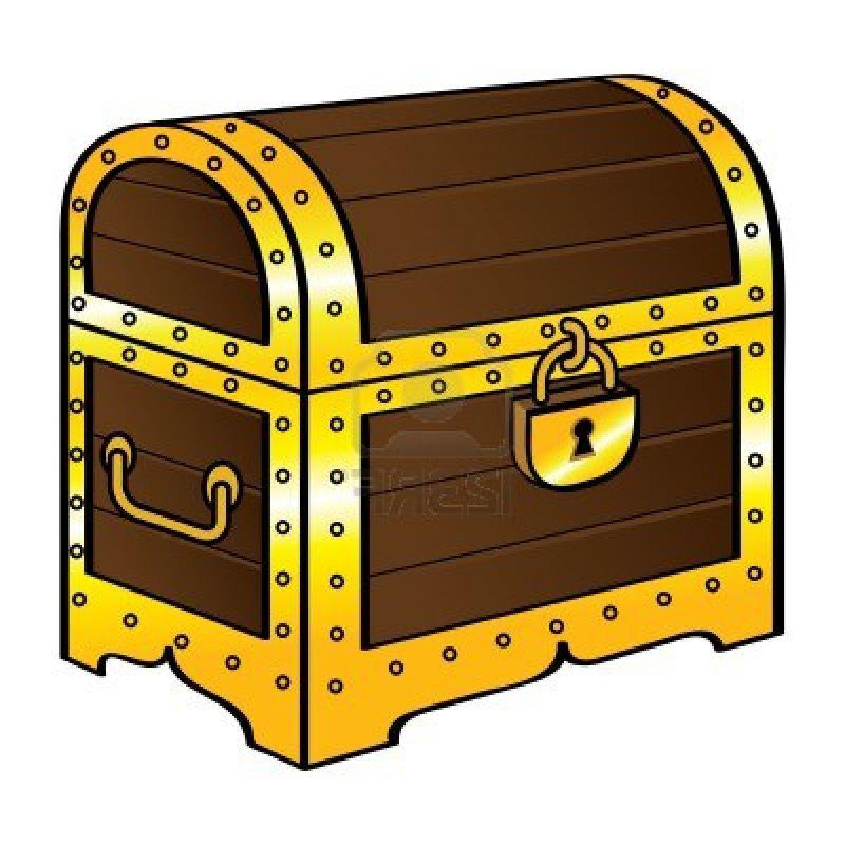 Free Treasure Chest Clipart: Treasure Box Clipart At GetDrawings.com