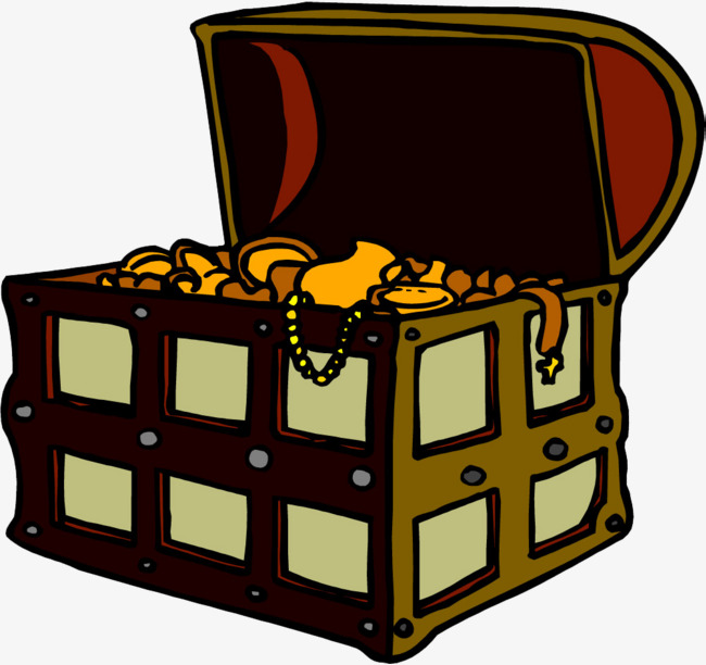 650x612 Open Treasure Box, Unpack The Box, Open Box, Gold Box Png Image