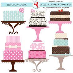 236x236 Pink Cake Shoppe Sweet Treats Clipart