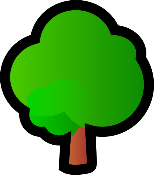 528x599 Tree Clip Art Free Vector 4vector