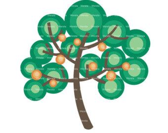340x270 Tree Clipart Large Family Tree Clip Art Vector