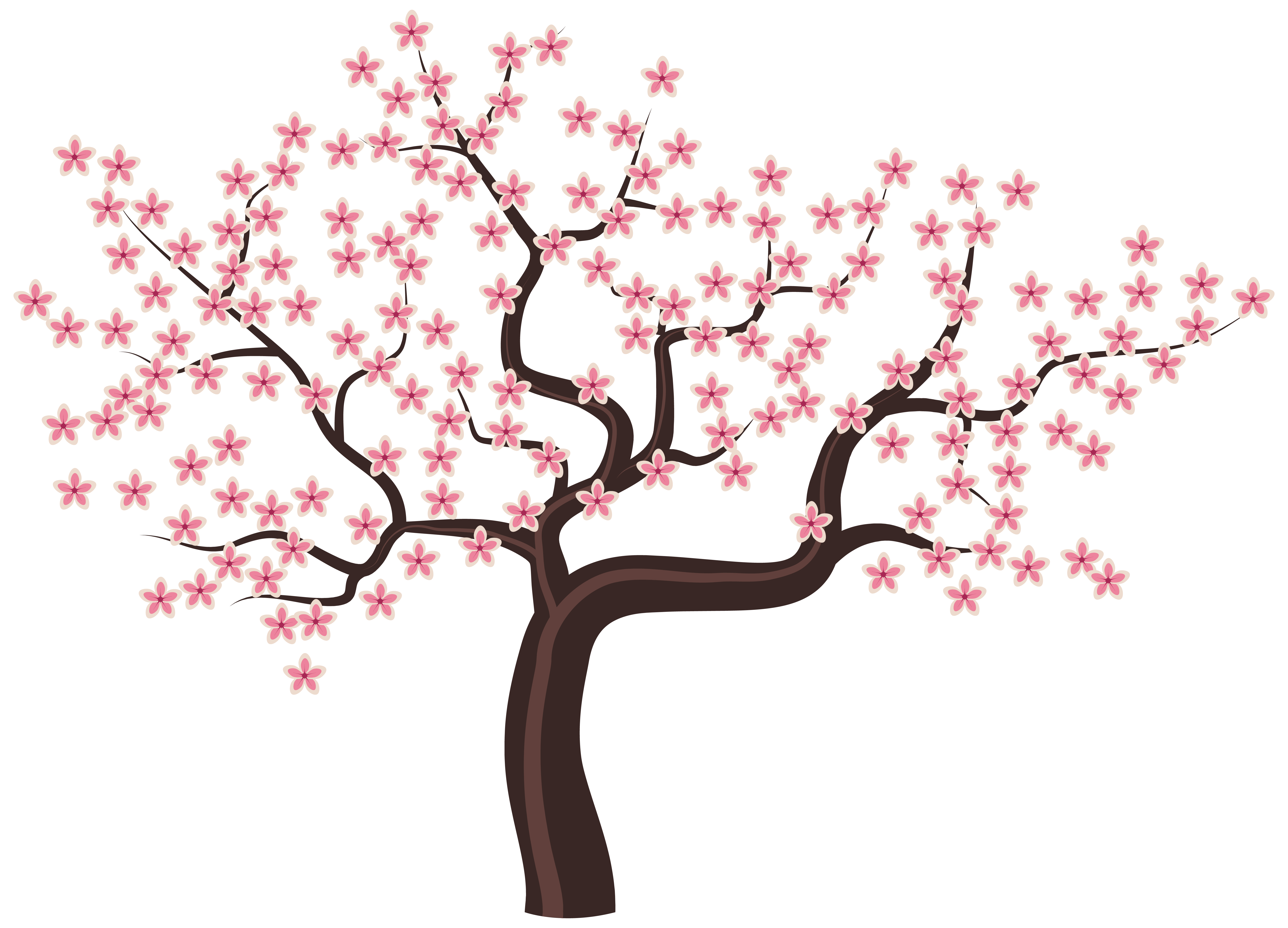6215x4479 Tree With Flowers Png Clipart Imageu200b Gallery Yopriceville