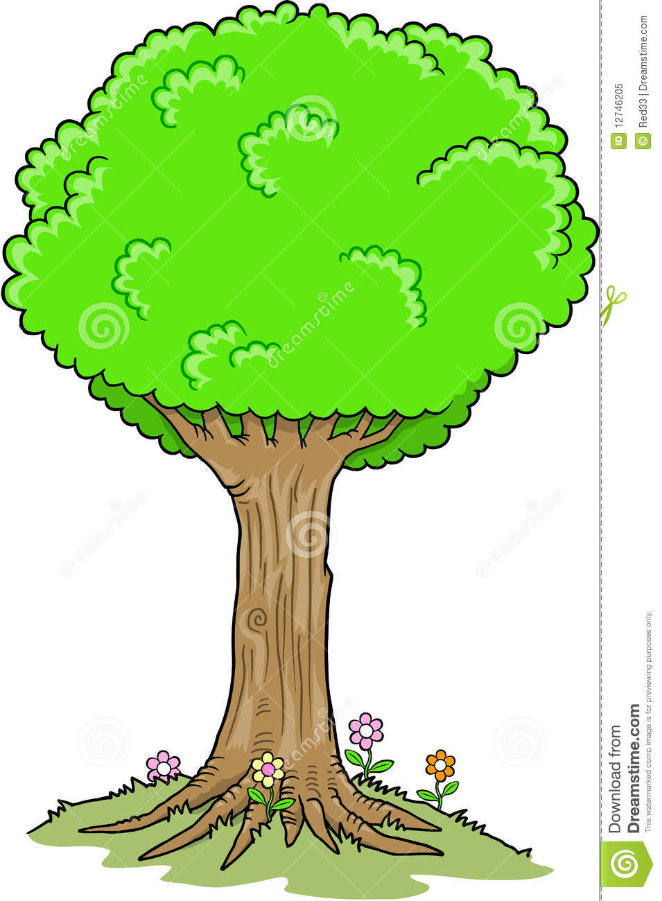 955x1300 Big Oak Tree Clipart