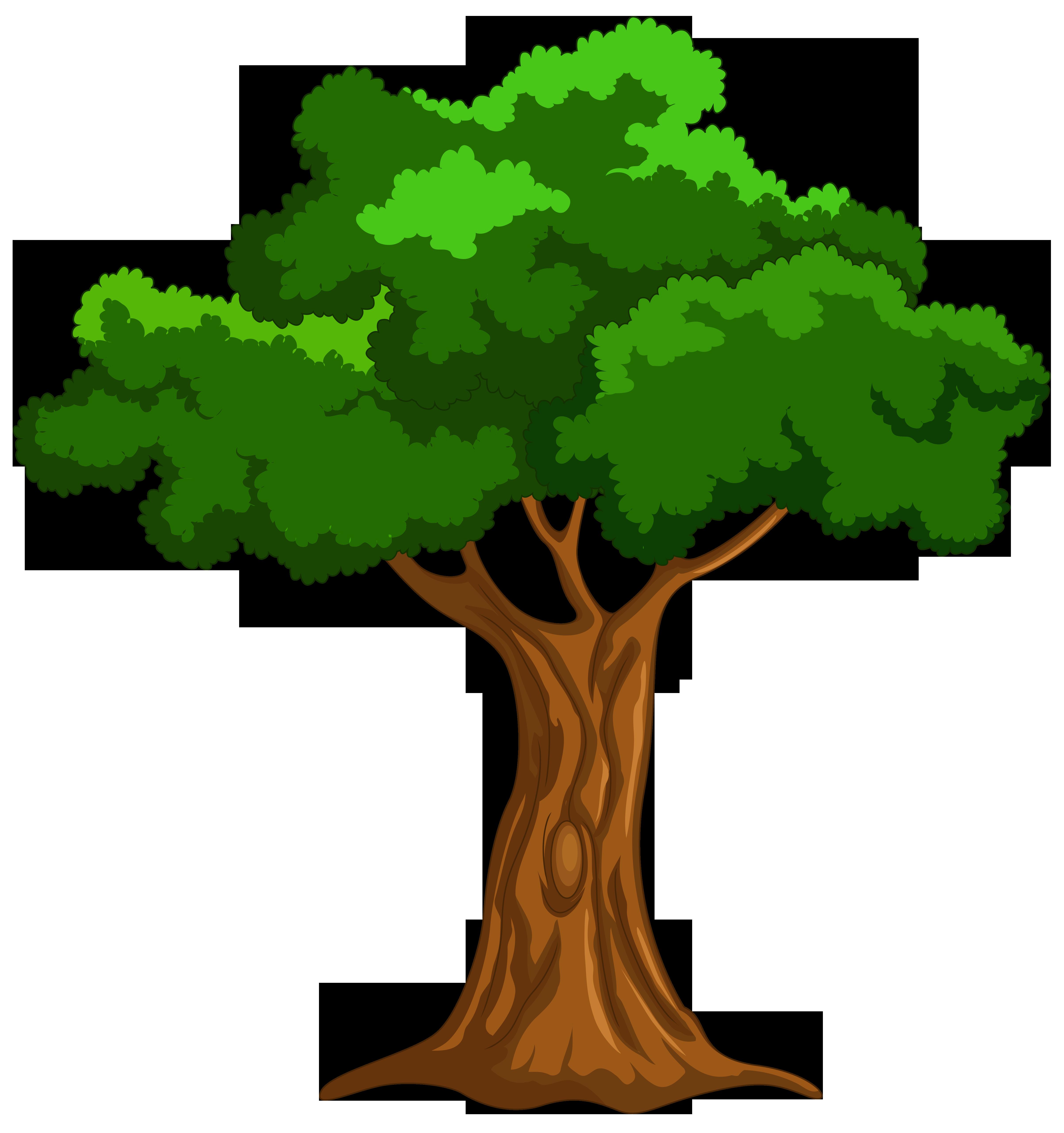 4810x5122 Cartoon Tree Png Clip Art