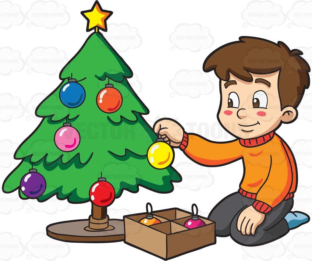 1024x857 Excellent Cartoon Christmas Tree 26 Kids At Collection 007 Paper