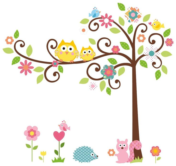736x692 Owl With Tree Clipart Amp Owl With Tree Clip Art Images