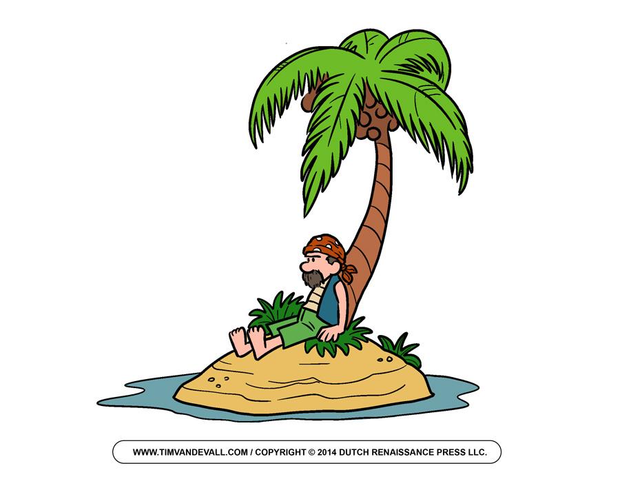 900x695 Palm Tree Clipart Pirate Island