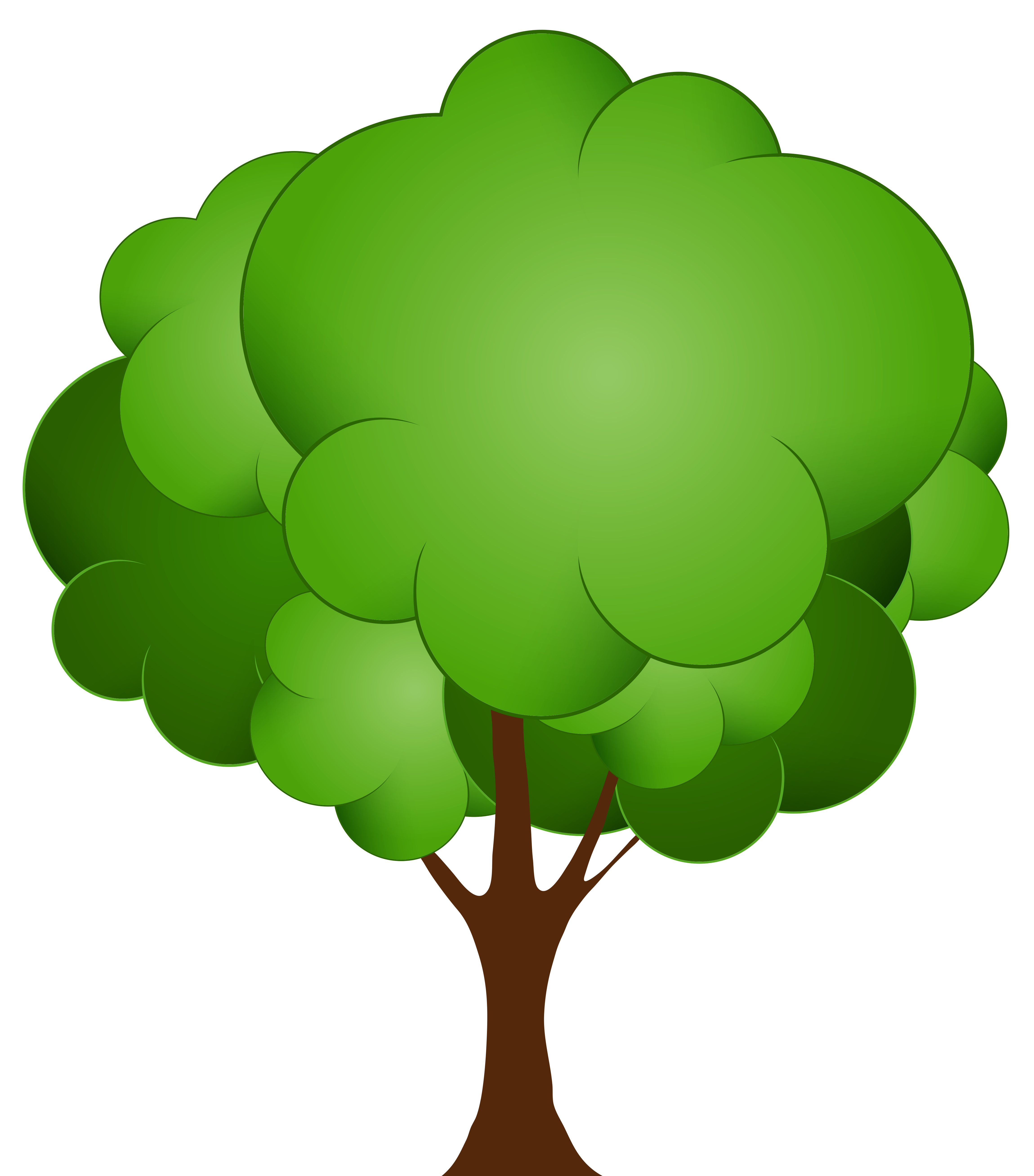 4599x5232 Amazing Decoration Clip Art Tree Images Free Trees Clipart