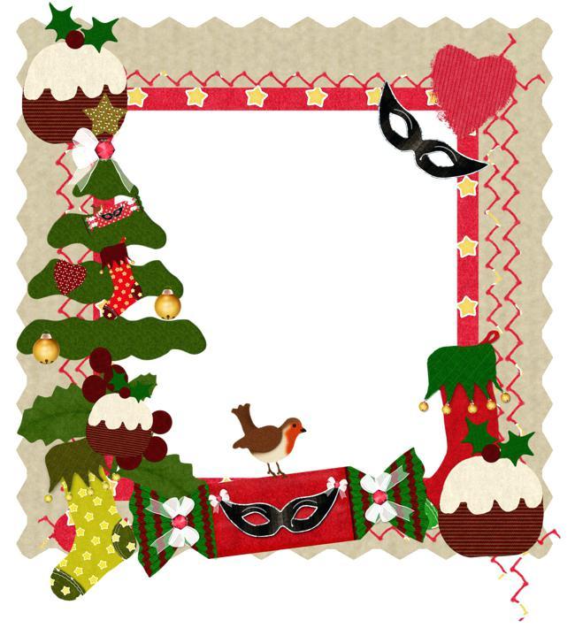 650x710 Christmas Frame Clip Art At Home Printable Photo Frames For Kids