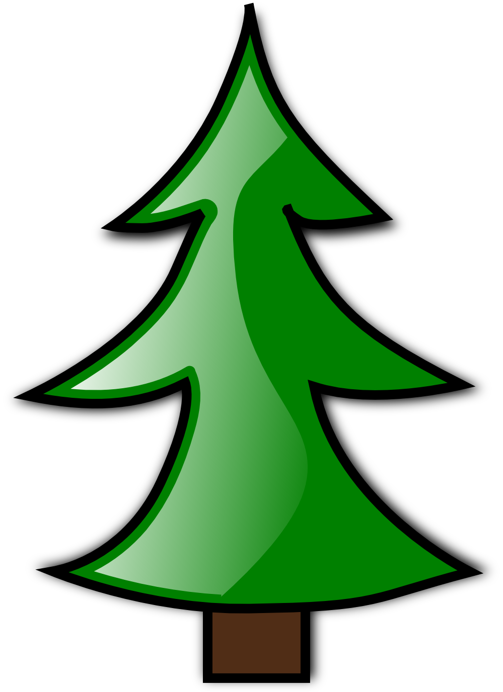 999x1376 Christmas Tree Clip Art Pictures Free Clipart Images