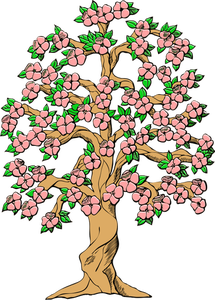 215x300 14402 Free Clipart Tree With Roots Public Domain Vectors