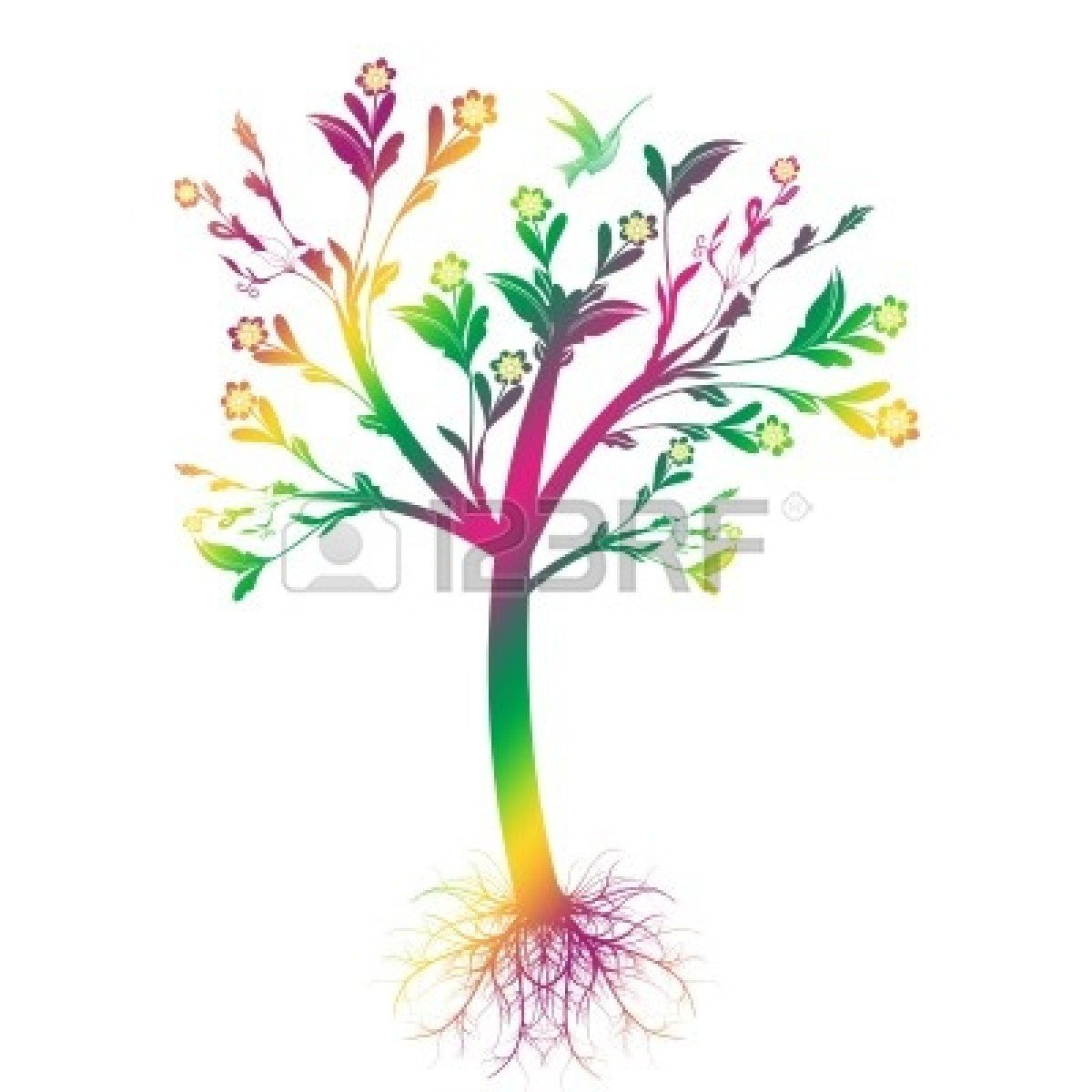 1200x1200 Trees With Roots Clip Art