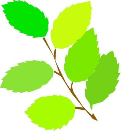 392x425 New Tree Spring Branch Plant Vine Leaves Clip Arts, Free Clip Art