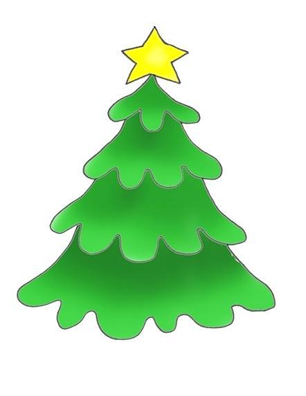 442x573 Christmas Tree Images Clip Art Free Free Modern Tree Green Tree