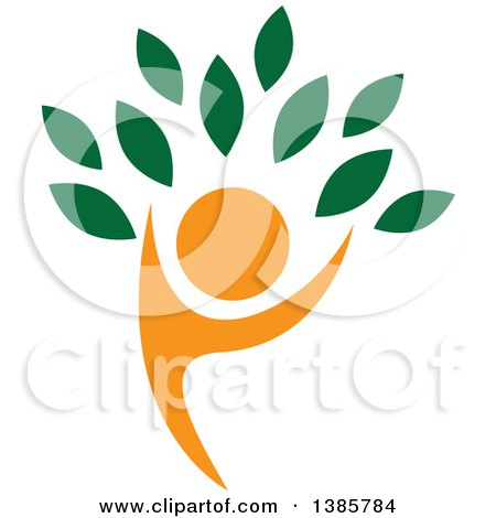 450x470 Royalty Free Clip Art Illustration Of A Green And White Go Green