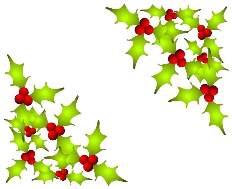800x655 Holly Leaves Clip Art Holly Decorations For Decorations Happy
