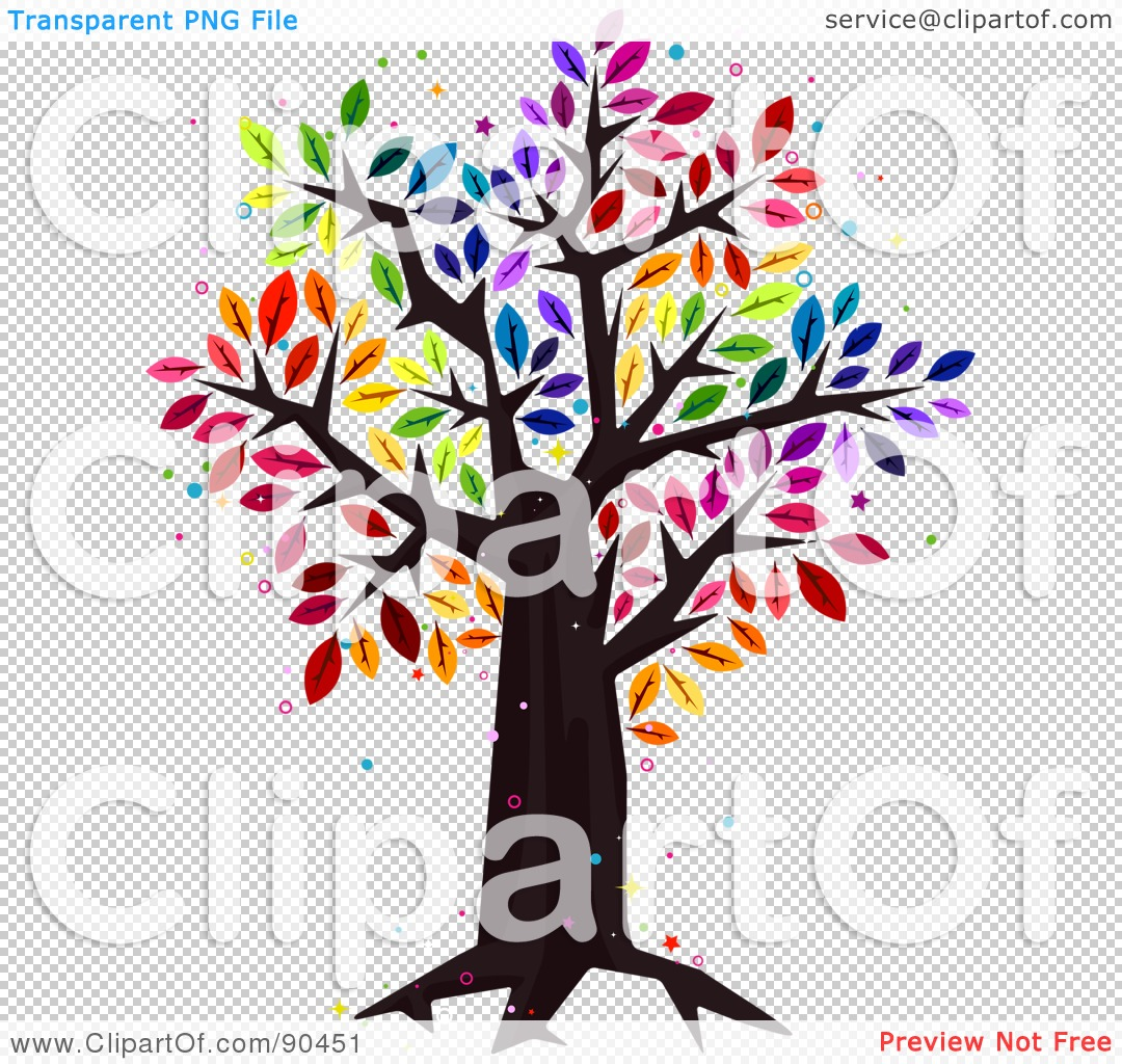 1080x1024 Royalty Free (Rf) Clipart Illustration Of A Sparkly Tree