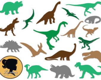 340x270 Dinosaur Clipart, Dino Clip Art, Digital Clipart Animals, Clipart