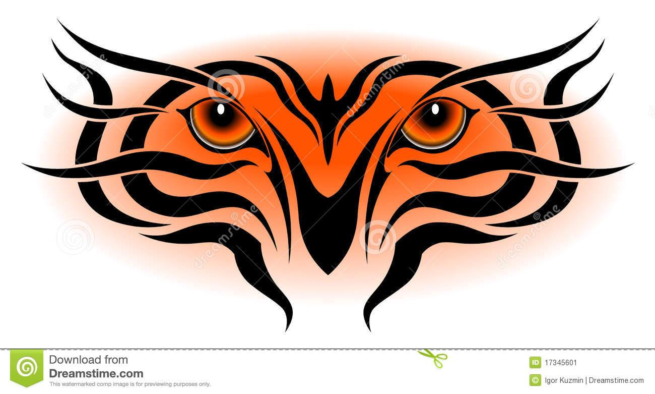 1300x781 Tiger Eyes, Tribal Tattoo Clipart Panda