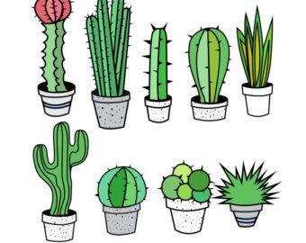 340x270 Cactus Clipart Cactus Clip Art Tribal Clipart Tribal By Pinkpueblo