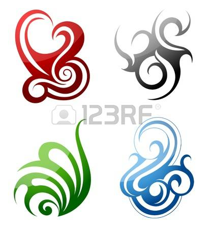 417x450 Tribal Clipart Art Design
