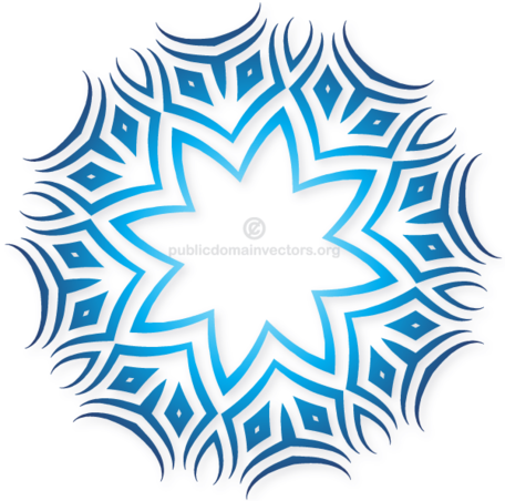 456x452 Free Tribal Vector, Cliparts