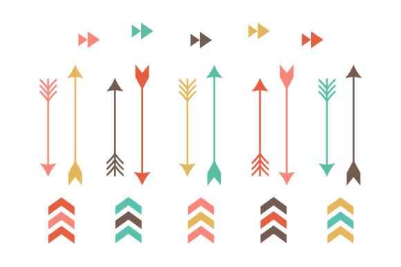 580x386 Tribal Design Arrow Clipart