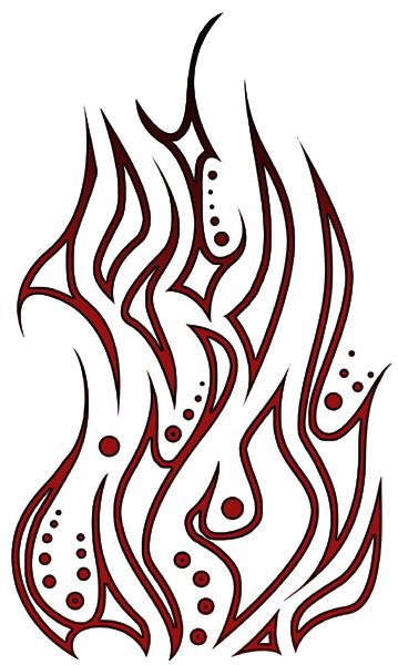 359x600 Tribal Flame By Toast Sama
