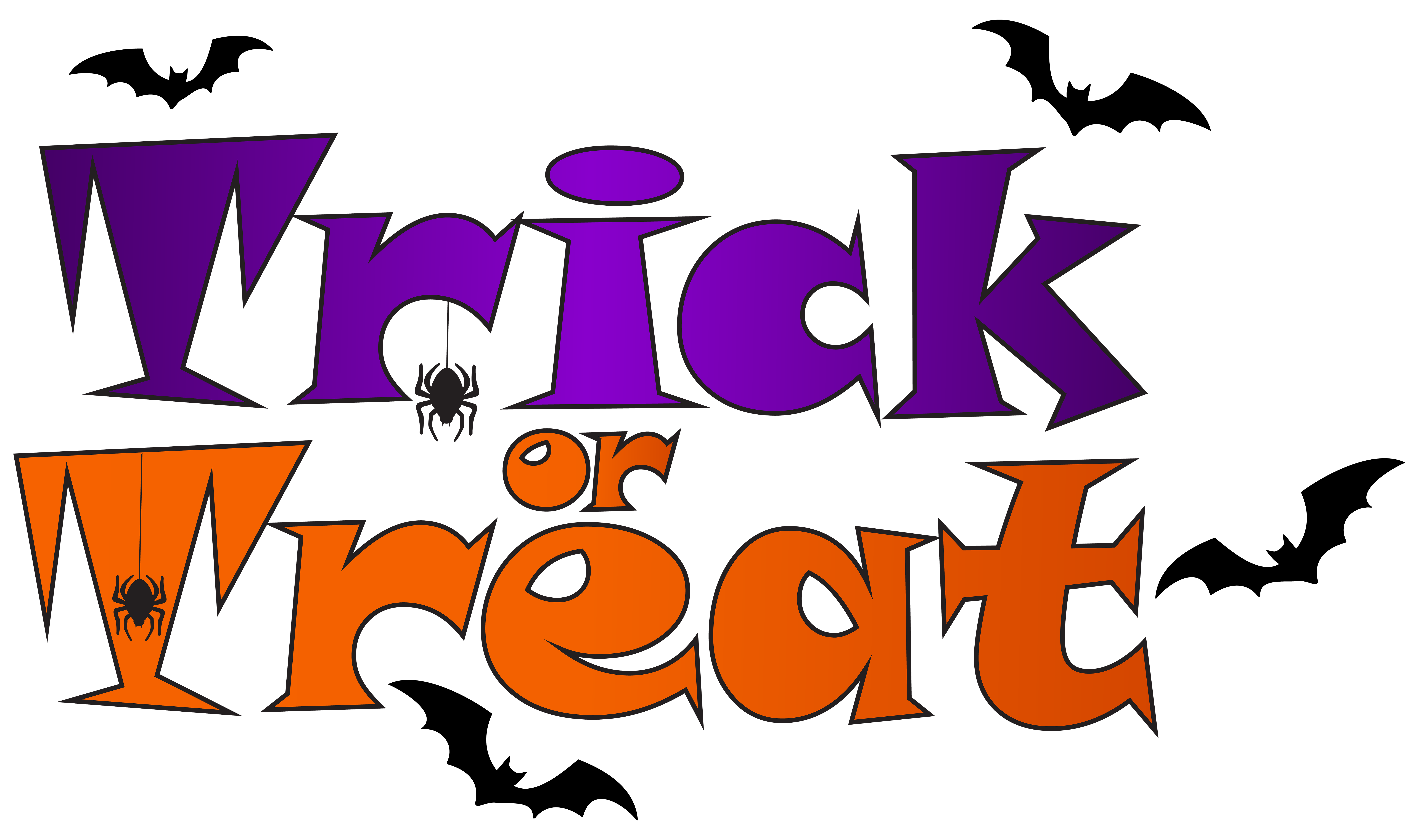 8000x4723 Trick Or Treat Png Clip Artu200b Gallery Yopriceville
