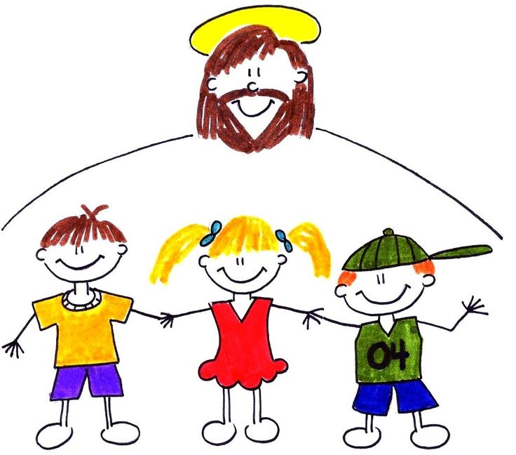 736x648 Jesus Playing With Children Clipart