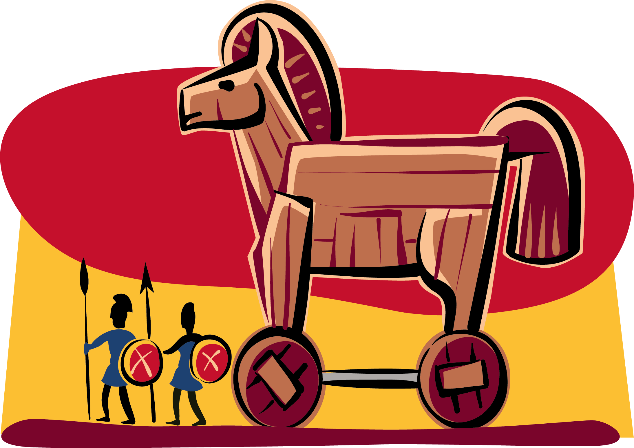 2189x1545 Collection Of Trojan Horse Clipart High Quality, Free