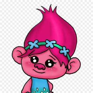 300x300 Trolls Clipart Watercolor Clip Art Geekchicpro