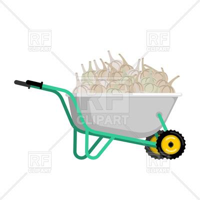 400x400 Wheelbarrow And Garlic