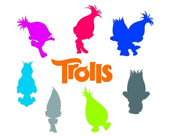 570x456 Trolls Svg, Trolls Logo, Clip Art In Digital Format Svg, Eps, Dxf