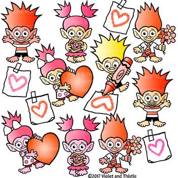 350x350 Valentine Trolls Clipart Valentine Mailbox Card Heart Drawing Clip