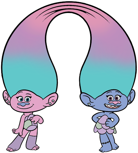 456x507 Collection Of Dreamworks Trolls Clipart High Quality, Free
