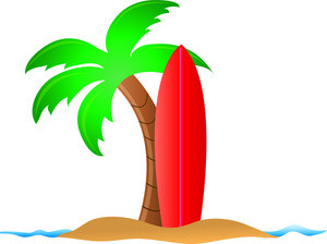 300x224 Free Clip Art Vacation Images Tropical Beach Clipart Free Vector 4