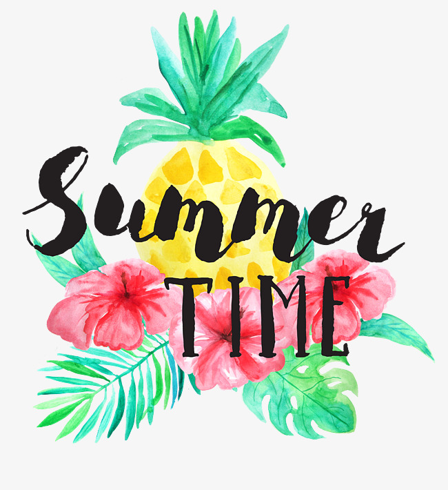 650x710 Fresh Watercolor Tropical Plant Summer Time, Summer Time, Tropical