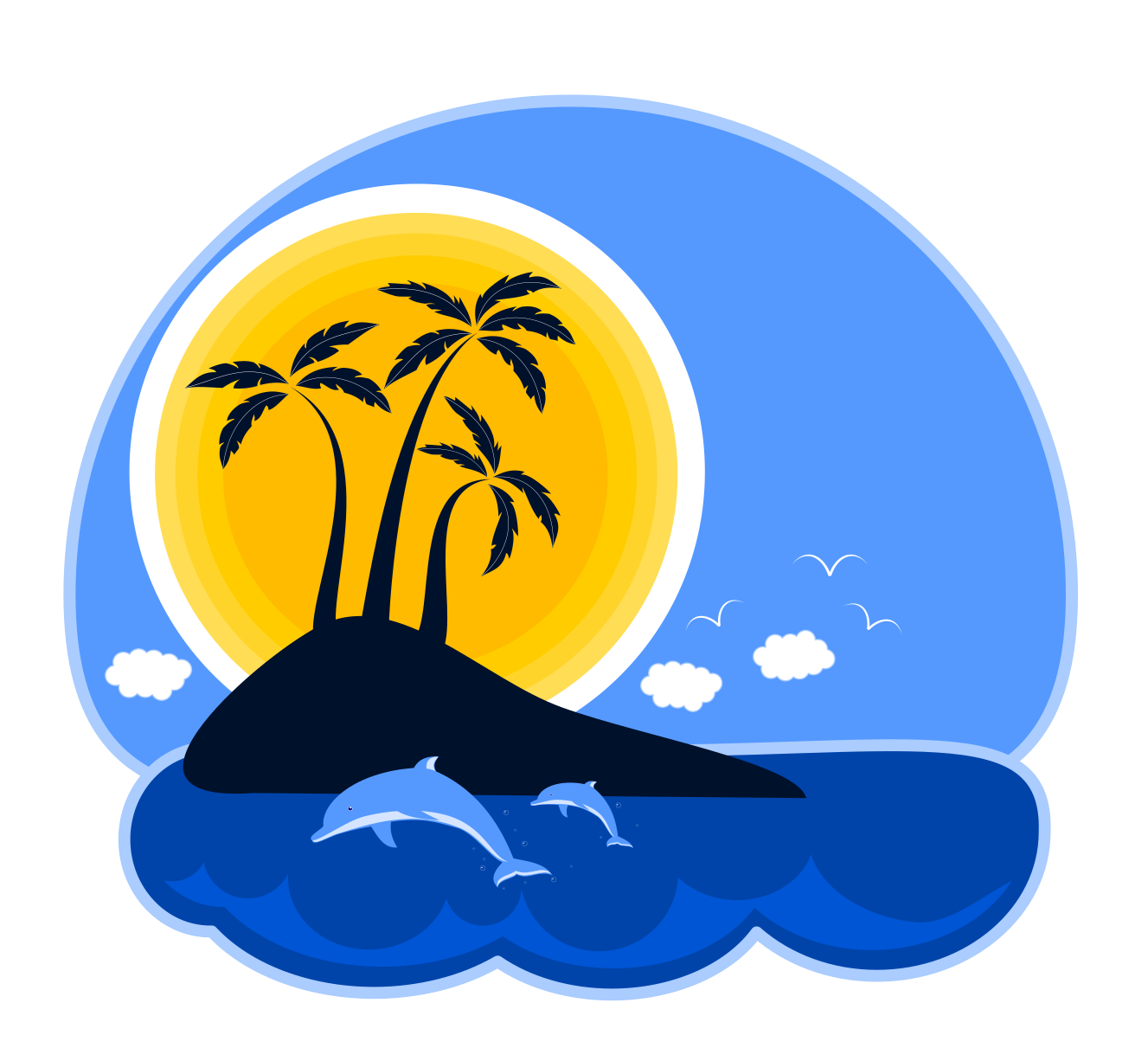1327x1211 Pleasurable Ideas Island Clipart Palm Tree On Clip Art At Clker