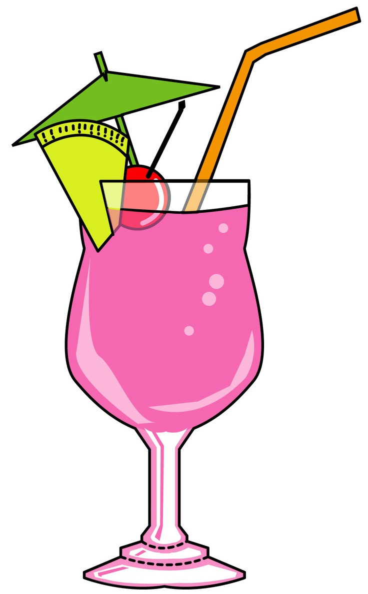 736x1189 A Colorful Cocktail Cocktails Clipart Set From Creative Clip Art