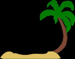 299x234 Tropical Beach Palm Tree Clip Art Clip Art