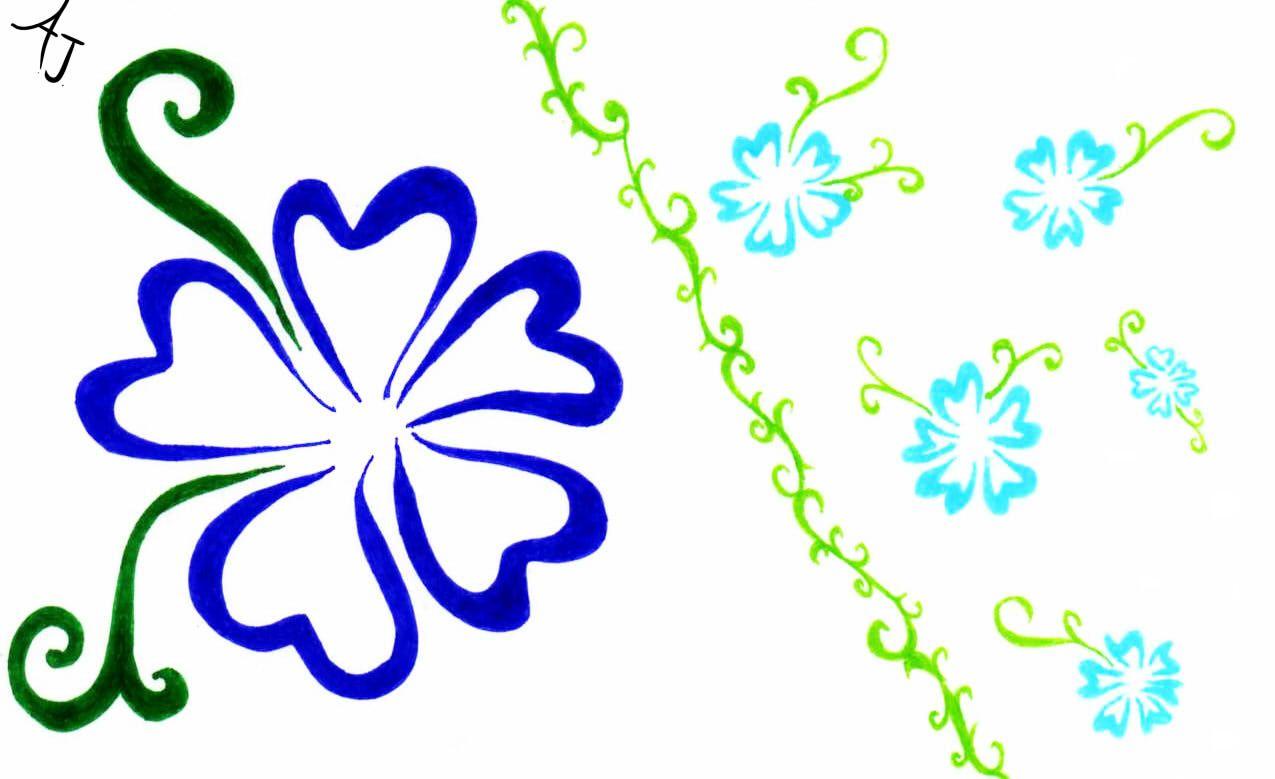 1275x779 Free Clip Art Tropical Borders Hawaiian Flowers Clipart Gallery
