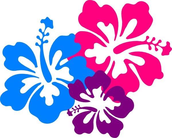 600x482 Hawaiian Flower Clipart