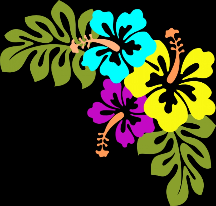 820x783 Tropical Flower Clipart Best Png Photo Images Free Clipart Download