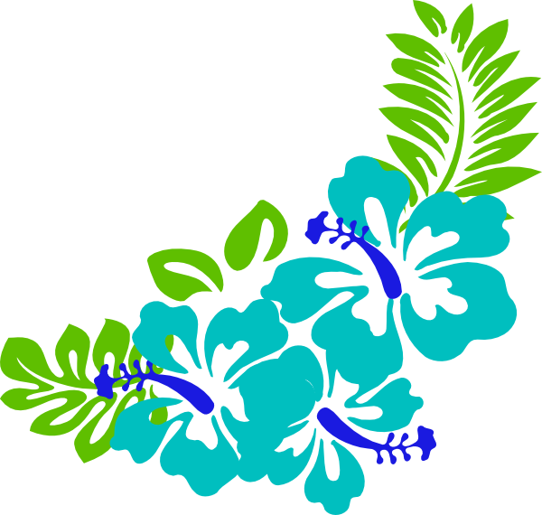600x570 Tropical Flowers Clipart