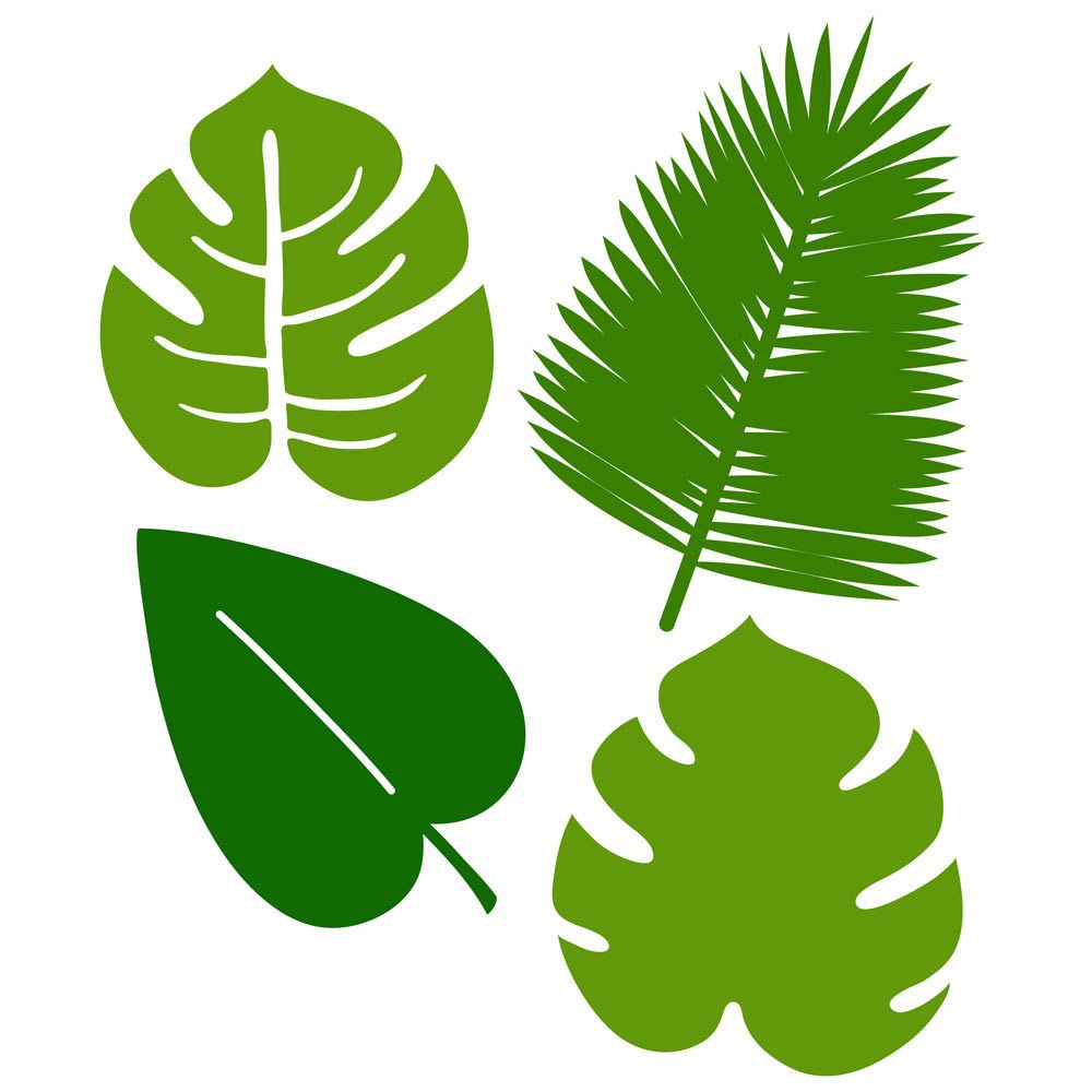 1000x1000 4 Tropical Leaves