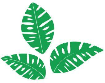 340x270 Fresh Tropical Leaf Clipart