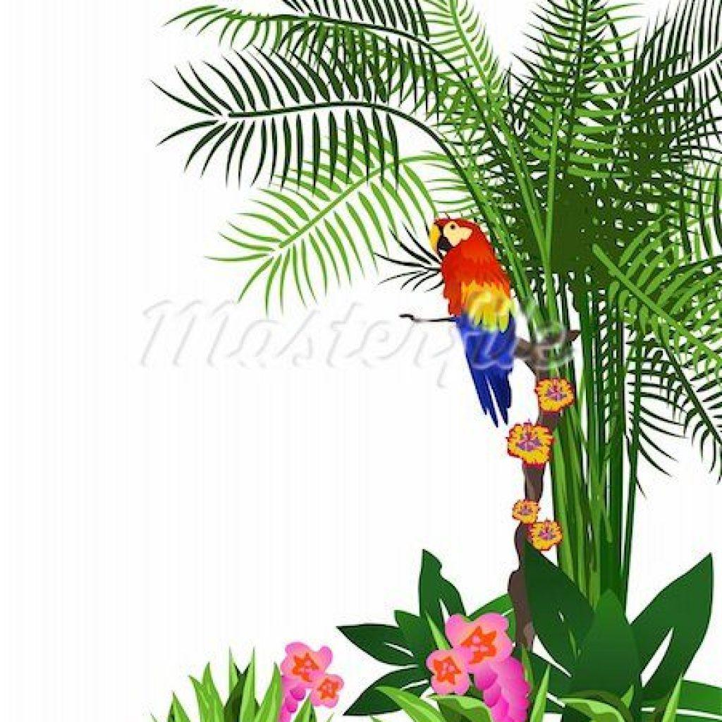 1024x1024 Rainforest Clipart Christmas Tree Clipart