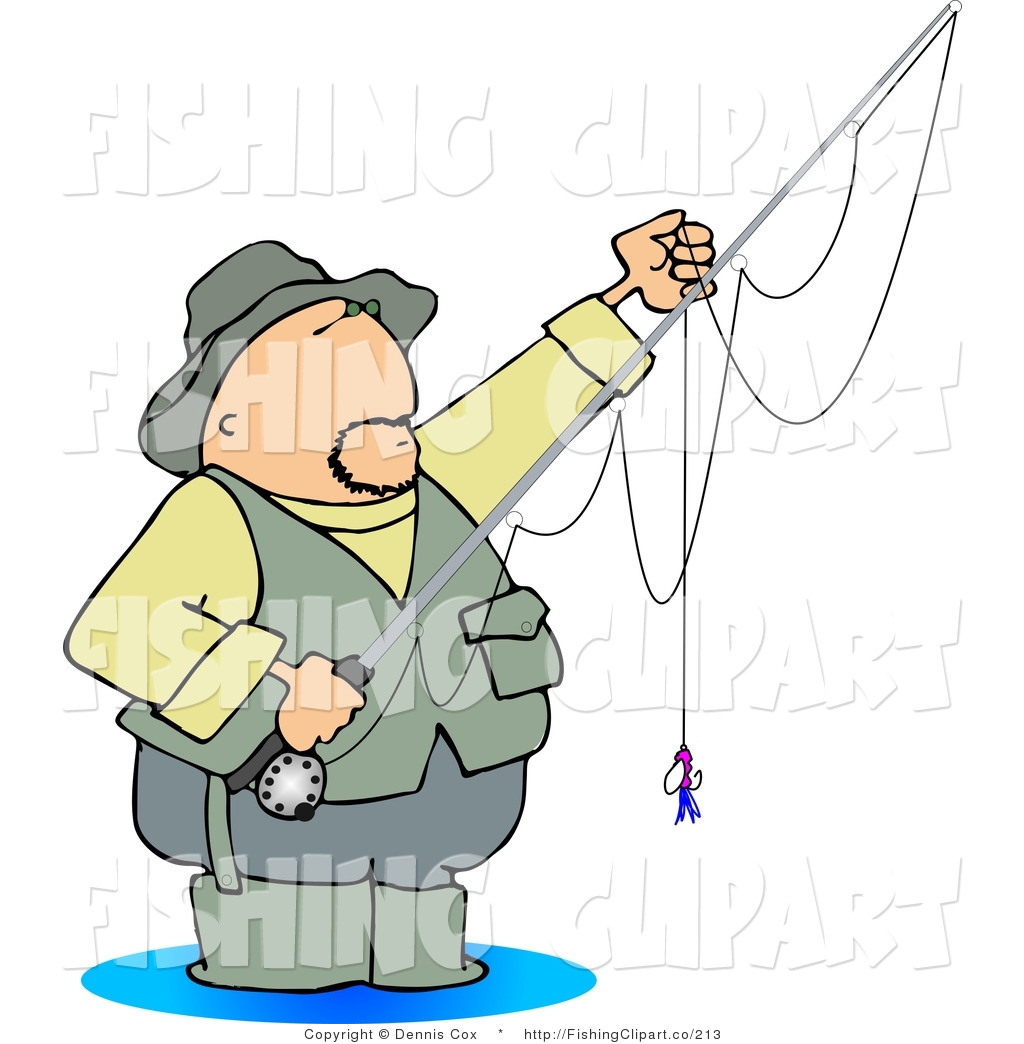 1024x1044 Fisherman Clipart Trout Fishing